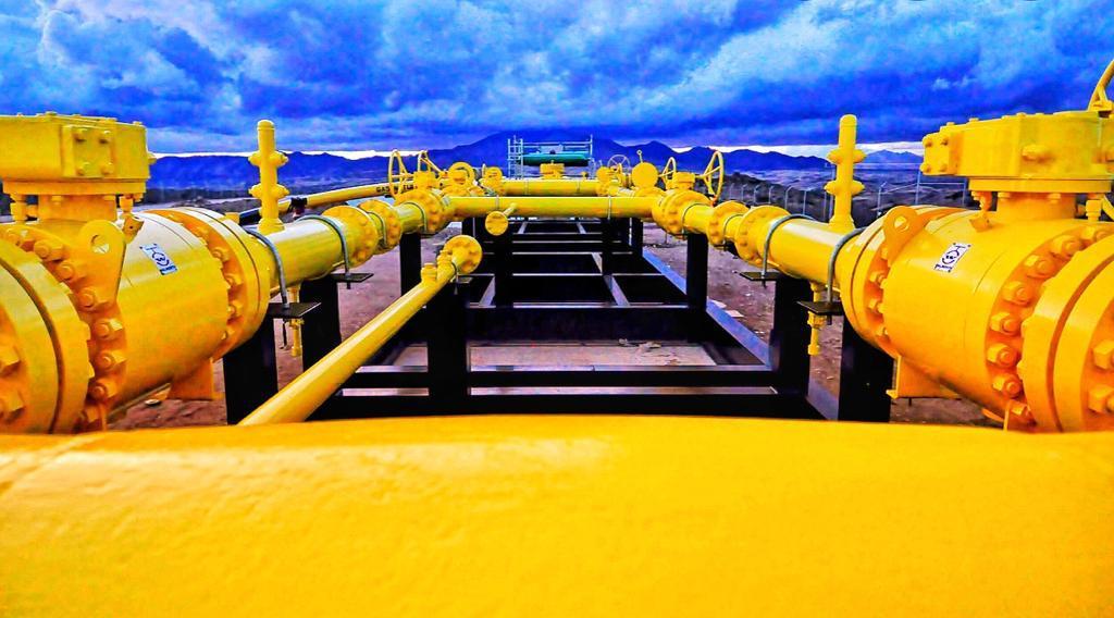 Suministro y comercialización de gas natural comprimido