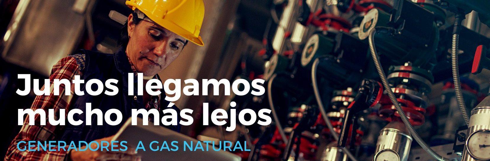 GAS NATURAL EN MOTORES DE GENERADORES