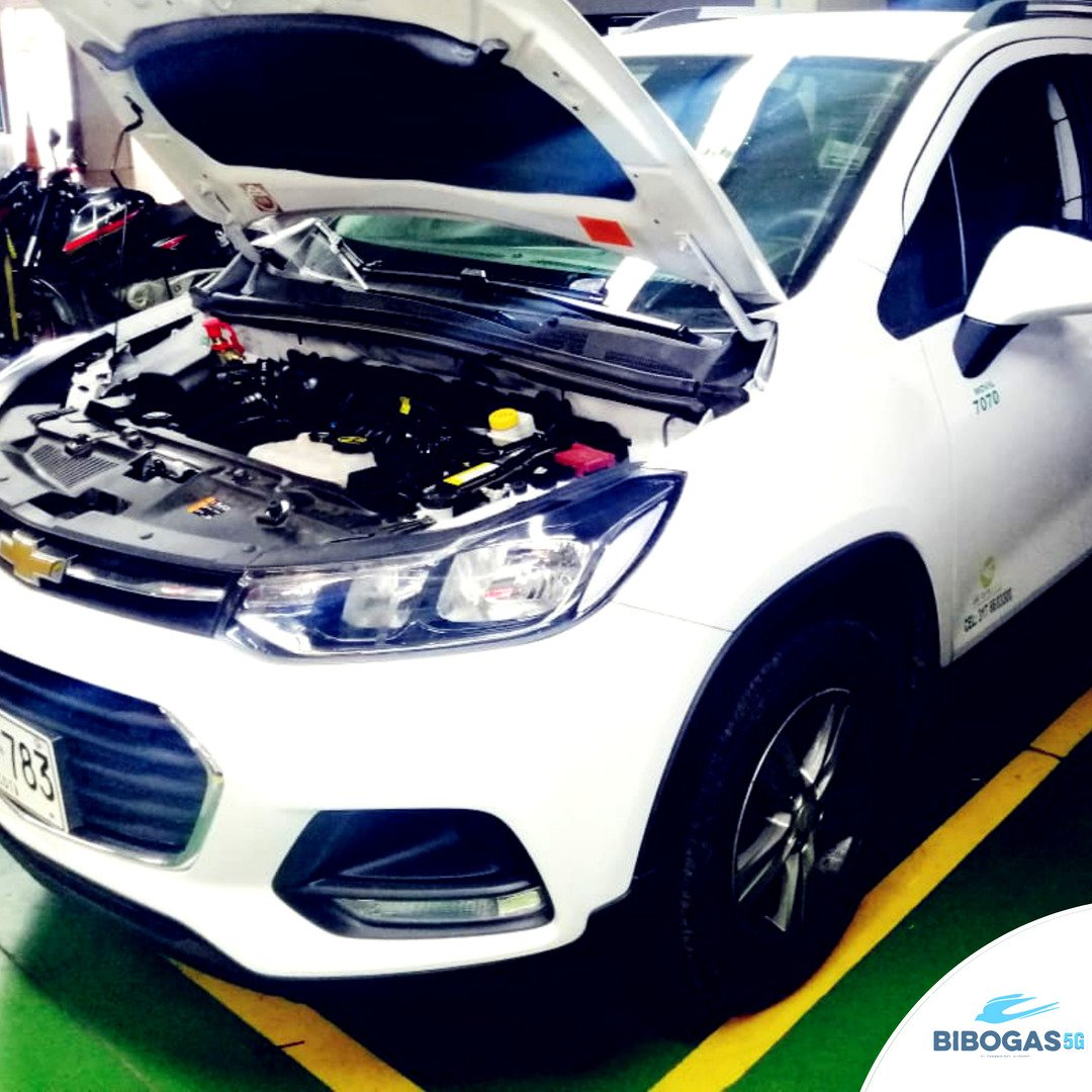 Chevrolet Tracker con sistema Euro VI 5G